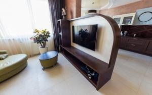 Мебель из массива в гостиную. Квартира 3 ЖК Паркове місто