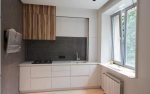 Кухня. Квартира на ул.Красноармейская, г.Киев
