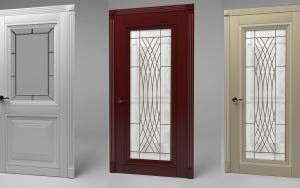 Модели межкомнатных дверей из массива натурального дерева